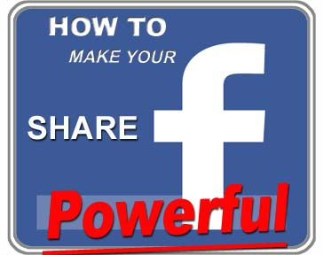 Facebook Share Powerful