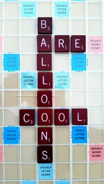 Balloon Scrabble